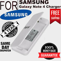 Original New Spare battery Kit Charger for Samsung Galaxy Note 4