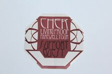 Cher - Backstage Pass - Farewell Tour - Free Postage -