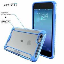Case For Apple iPhone 6S / 6 POETIC【Affinity】Soft Shock proof TPU Case Blue