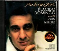placido domingo,perhaps love with john denver,used cd