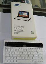 Samsung Galaxy Tab 8.9 Full Size Keyboard Dock White