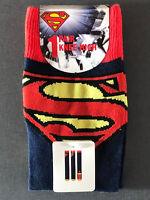 Superman Damen Socken Kniestrümpfe Superwoman DC Comics Socks 37-42 PRiMARK