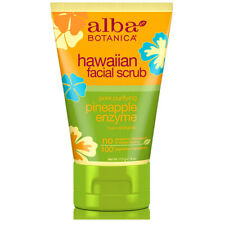 Alba Botanica - Natural Hawaiian Facial Scrub Pore Purifying Pineapple - 4 oz.