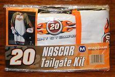Nascar Tailgate Kit #20 Tony Stewart Fan Apparel Includes Mit Apron & Pot Holder