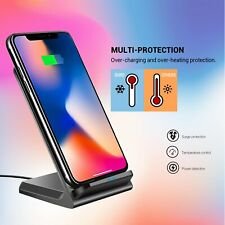 QI Wireless Fast Charger Stand Dock For LG V35 V40 G7 ThinQ Stylo 4 G5 US Stock