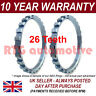 2x para RENAULT THALIA 26 dientes 74.95mm Anillo del Reluctor ABS