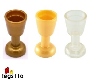 LEGO Goblet Wine Glass Cup accessory NEW 2343 / 6269 choose colour and quantity