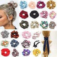 XL Scrunchie tumbler Girl Haargummi Haarband Haarschmuck Zopfband 49 Modelle