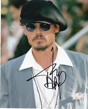 Johnny Depp  handsigned autograph with COA