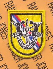 1st Special Forces Airborne Det Korea DUI flash patch B
