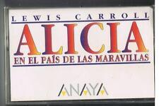 ALICIA EN EL PAIS DE LAS MARAVILLAS - L. CARROL  - FIABA IN SPAGNOLO -  MC