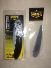 Wicked Tree Gear High Performance Hand Saw With Replacement Blade