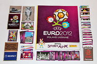 Panini EM Euro 2012 – KOMPLETTSATZ COMPLETE SET + ALBUM INTERNATIONAL VERSION!