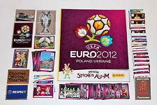 Panini EM Euro 2012 – KOMPLETTSATZ COMPLETE SET + ALBUM INTERNATIONAL VERSION!