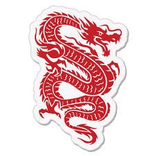 "Red Dragon Styling Tattoo car bumper sticker decal 5"" x 4"""
