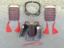 Phantom Killer - Black Red & Gold Like Samurai Armor Set