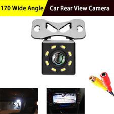 Car Rear View Backup Camera Parking Reverse Back Up Camera Waterproof NTSC 8LED