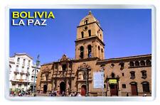 BOLIVIA LA PAZ MOD2 FRIDGE MAGNET SOUVENIR IMAN NEVERA