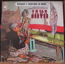 PRAMONO MUSIQUE ET TRADITIONS DU MONDE JAVA GATEFOLD COVER  FRENCH LP 1973