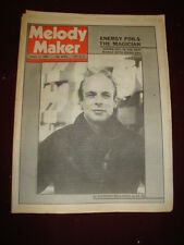 MELODY MAKER 1980 JAN 12 BRIAN ENO ADAM & THE ANTS BA ROBERTSON PRETENDERS CLASH
