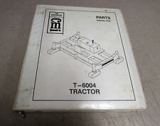 CMI Corporation T-6004 Tractor Parts Book Manual A08306-E02 2000