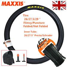 MAXXIS MTB Tyre 26/27.5/29 60TPI Folding/Puncture Non-slip Tire 65PSI Inner Tube
