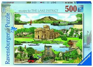 Ravensburger - Escape to The Lake District 500pc - Jigsaw Puzzle