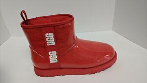 UGG Classic Clear Mini Boots, Lava Flow, Women's 12 M