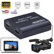 HDMI Video Capture Card Recorder USB 2.0 1080P Game Live Capture HDTV Streamer