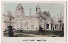 London; Canadian Pavilion, Franco British Exhibition PPC, By Alexander, Faults