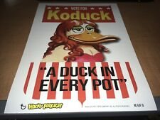 2014 Topps Wacky Packages Cardboard Wall Art Poster Vote For Koduck #6