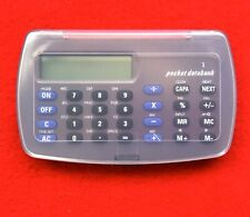 Pocket Databank PDA Personal Organizer Numbers and Letters Instruction Manual