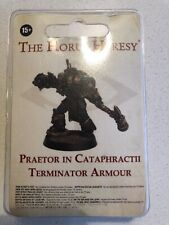 Horus Heresy Space Marine Praetor In Cataphractii Terminator Armour Forgeworld