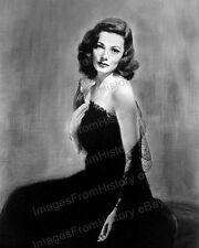 8x10 Print Gene Tierney Beautiful Portrait Laura 1944 #GT03