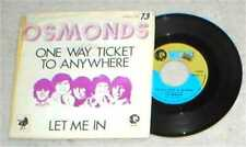 OSMONDS pic sleeve 45 ONE WAY TICKET TO ANYWHERE Let Me In Belgium