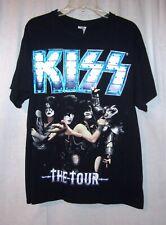 KISS The Tour 2012 T Shirt Size L see measurements
