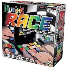 Rubiks Race Original Rubik's Product Fun 2 Player Family Game Age 5 Educational