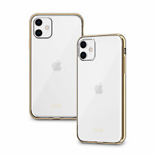 "Moshi Vitros Clear Case for iPhone 11 6.1"" Chamgagne Gold Genuine"