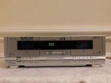 Ion Audio Tape 2 PC Cassette Tape Archiver Tape2pc Dual Cassette Deck for MAC PC