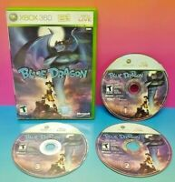 Blue Dragon - XBOX 360 Game - Rare  All 3 discs Rare DragonBall DBZ