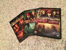Pirates of the Caribbean - 3 movies (Dvd)
