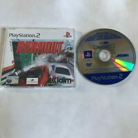 Burnout / Disc In Case / Rare Promo Full game / Playstation 2 PS2 PAL Acclaim