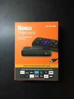Roku 3920RW Premiere 4K HDR Streaming Media Player - Black Brand New Sealed