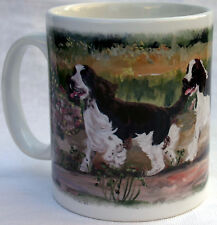 SPRINGER SPANIEL DOG MUG NEW OIL PAINTING DESIGN SANDRA COEN ARTIST PRINT