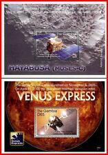 ASTRONOMY & SPACE  x2 S/S  MNH ** postfrisch unmounted fr.GAMBIA