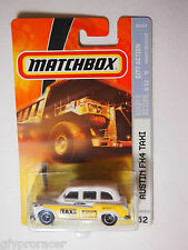 Matchbox AUSTIN FX4 TAXI CITY ACTION M5334