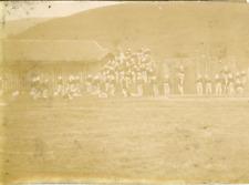 France, Revue militaire ca.1897 vintage citrate print Vintage citrate printC