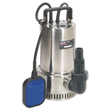 WPS250A Sealey Submersible Stainless Water Pump Automatic 250ltr/min 230V