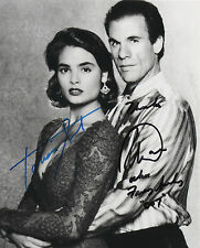 ROBERT DAVI & TALISA SOTO Signed 10X8 Photo LICENCE TO KILL James Bond 007 COA