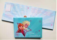 Frozen Freundebuch aktuell 2018 Elsa Anna DIN A5 quer Tagebuch Kein Sparversand!